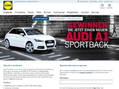 Gewinnspiel Audi
