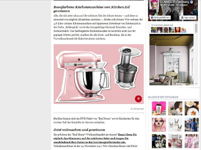 kitchenaid gewinnspiel oktober 2018 kitchen 2018. Black Bedroom Furniture Sets. Home Design Ideas