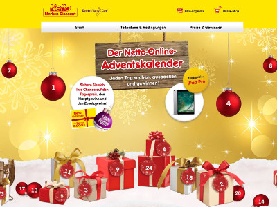 Netto Online De Adventskalender