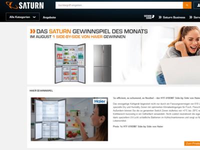 Retro Kühlschrank Neckermann : Saturn: haier kühlschrank gewinnspiel gewinnspiele.de