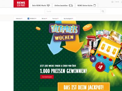 Gewinnspiel Rewe