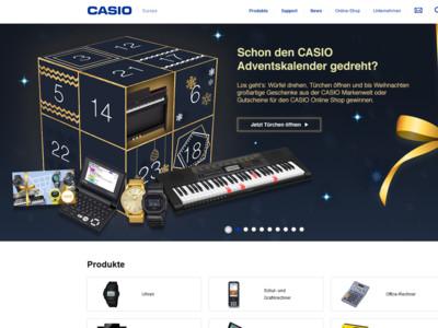 Adventskalender Casio